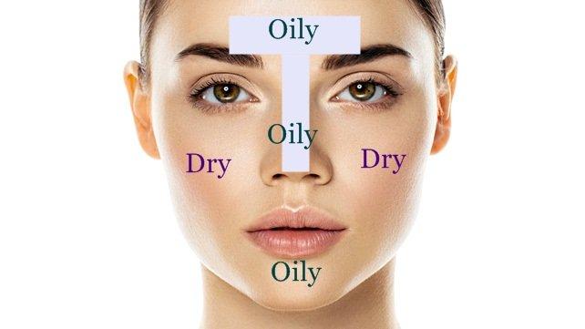 نحوه تشخیص و مراقبت از پوست مختلط
