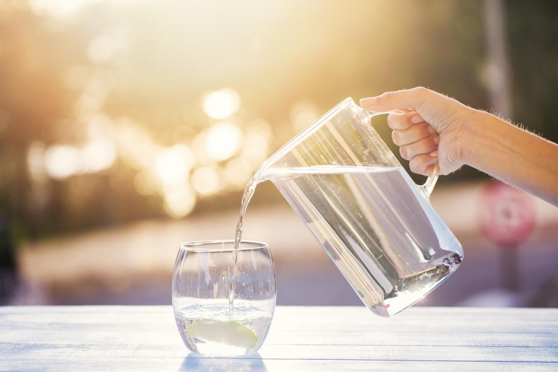 به اندازه کافی آب بنوشید تا از اسپاسم عضلانی پیشگیری کنید.