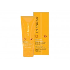 کرم ضد آفتاب و ضد لک بی رنگ مخصوص پوست چرب و مستعد آکنه SPF 50