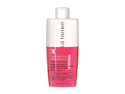 محلول دو فاز پاک کننده آرایش مناسب برای آرایش ضد آب-چشم و لب